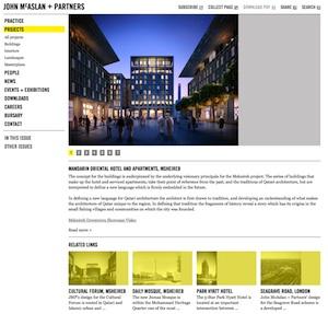 mcaslan webpage