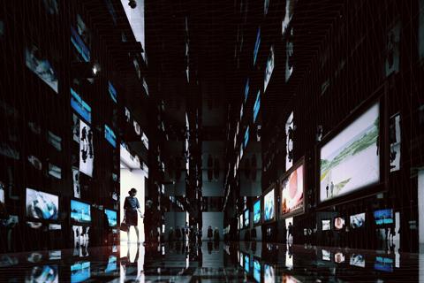 Eric de Broche des Combes / Luxigon. 150 Rays, 2013. Digital Rendering; JPG file, 5000 by 3333 pixels.