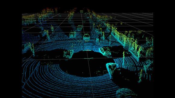 driverless car lidar